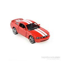 Kinsmart 2006 Ford Mustang GT Çek Bırak 1/38 Die Cast Model Araç Kırmızı