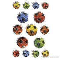 Herma Çocuk Etiketleri Renkli Futbol Topları