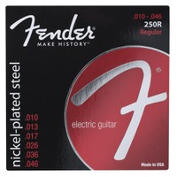 Fender Super 250S Guitar Strings, Nickel Plated S
