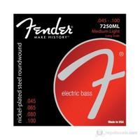 Fender Super 7250 Bass Strings,Nickel Plated Steel