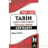 YGS-LYS Tarih Genel Türk Tarihi Osmanlı Tarihi Cep Kartı