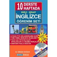 10 Derste / 10 Haftada Hızlı Kolay İngilizce Öğrenim Seti