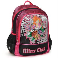 Winx Okul Çanta Club Black Tattoo 29 X 37 X 15Cm