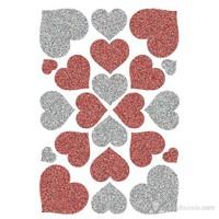 Herma Çocuk Etiketleri Işıltılı Kalpler