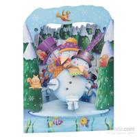 Santoro Gc-Swıng Cards-Snowman Santorosc066