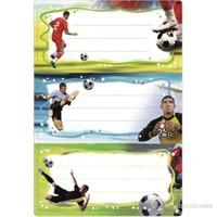 Herma Okul Etiketleri Futbol