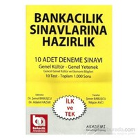 Akademi Consulting Training 2013 Bankacılık 10 Adet Deneme Sınavı Genel Kültür Genel Yetenek