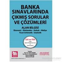 Akademi Consulting Training 2014 Banka Sınavlarında Çıkmış Sorular ve Çözümleri Alan Bilgisi