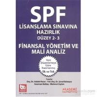 Spf Lisanslama Sınavlarına Hazırlık Düzey 2-3 Finansal Yönetim Ve Mali Analiz-Şenol Babuşcu