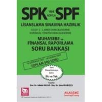 SPF Lisanslama Sınavlarına Hazırlık Düzey 2-3 Muhasebe ve Finansal Raporlama Soru Bankası