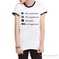 Köstebek Moment,Memories,Pain,Happines Bt299 Kadın T-Shirt