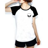 Köstebek Alien Bayan T-Shirt Bt326raglan
