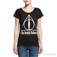 Köstebek Harry Potter - The Deatlhly Hallows Kadın T-Shirt