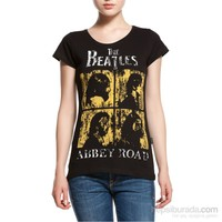Köstebek The Beatles - Abbey Road Kadın T-Shirt