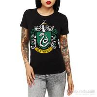 "Köstebek ""Harry Potter - Syltherin"" Kadın T-Shirt"