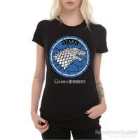 Köstebek Stark Logo Kadın Tişört