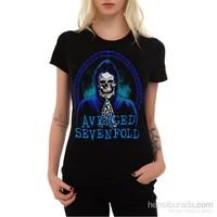 Köstebek Avenged Sevenfold Blue Kadın Tişört