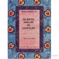 İslam'da Haklar ve Vazifeler - Pembe Kitaplar: 13