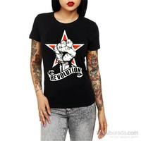 Köstebek Revolution Kadın T-Shirt