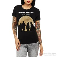 Köstebek Imagine Dragons Kadın T-Shirt