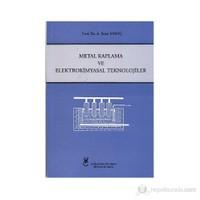 Metal Kaplama ve Elektrokimyasal Teknolojiler - A. Sezai Saraç