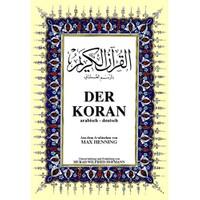 Der Koran Büyük Boy (Arapça – Almanca K.Kerim Ve Meali)-Max Henning