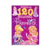 Boyama Ve 120 Çıkartma: Prenses-Kolektif