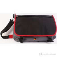 Umix My Style- Siyah/gri postacı çantası