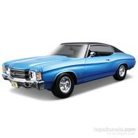 Maisto 1971 Chevrolet Chevelle Ss 454 Model Araba 1:18 S/E Mavi