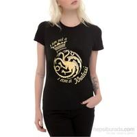 Köstebek I Am Not A Princess, I Am A Khaleesi Kadın Tişört