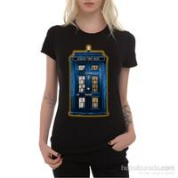 Köstebek Tardis & 221B Kadın Tişört
