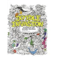 Doodle Invasion: Yetişkinler İçin Boyama Macerası