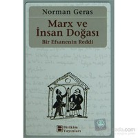 Marx Ve İnsan Doğası - Bir Efsanenin Reddi-Norman Geras