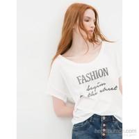 Koton Beyaz T-Shirt