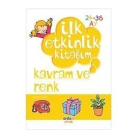 Erdem Yayınları İlk Etkinlik Kitabım Düşünme Becerileri Kavram-Renk