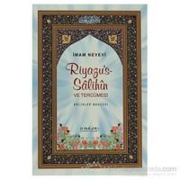 Riyazu''s-Salihin Ve Tercümesi (Büyük Boy) (Ciltli) - Ebu Zekeriyya Muhyiddin Bin Şeref En-Nevevi Ed-Dimeşki
