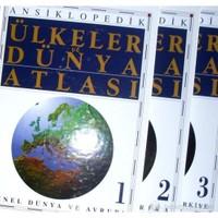 Ansiklopedik Ülkeler ve Dünya Atlası (3 Cilt + Kutulu)
