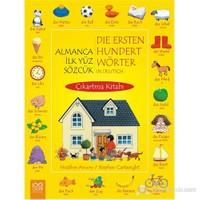 Almanca İlk Yüz Sözcük Çıkartma Kitabı - Heather Amery