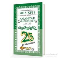 Kitapcimbiz KPSS Coğrafya 25 Çözümlü Anahtar Deneme