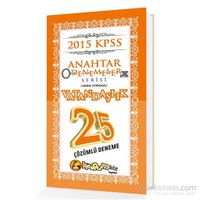 Kitapcimbiz KPSS Vatandaşlık 25 Çözümlü Anahtar Deneme