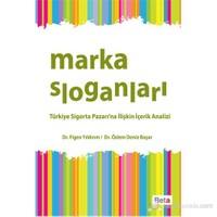 Marka Sloganları - Türkiye Sigorta Pazarı'na İlişkin İçerik Analizi