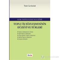 Toplu İş Sözleşmesinin Düzeyi Ve Türleri-Talat Canbolat