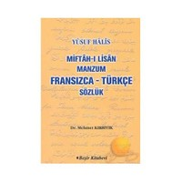 MİFTAH-I LİSAN MANZUM FRANSIZCA - TÜRKÇE SÖZLÜK