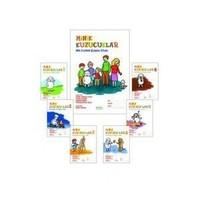 Erdem Yayınları Minik Kuzucuklar Okul Öncesi Eğitim Seti (7 Kitap)