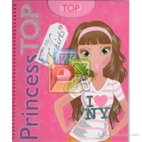 Princess Top My T-Shirts - Pembe-Kolektif