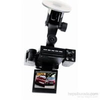 Techsmart Ghk-1010 Çift Kameralı Araç İçi Kamera