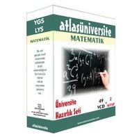 Atlas Üniversite Ygs-Lys Matematik Seti (49 VCD + 2 Kitap)