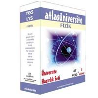 Atlas Üniversite Ygs-Lys Fizik Seti (47 VCD + 2 Kitap)