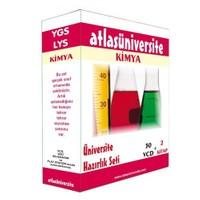 Atlas Üniversite Ygs-Lys Kimya Seti (30 VCD + 2 Kitap)