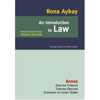 An Introduction to Law - Rona Aybay